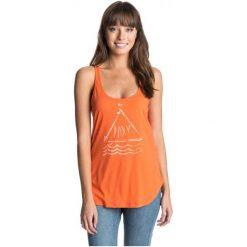 Roxy Koszulka Sportowa Basic Tank B Persimmon M. Pomarańczowe bluzki sportowe damskie Roxy, m, z bawełny, na ramiączkach. W wyprzedaży za 59,00 zł.