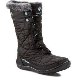 Kozaki dziewczęce: Śniegowce COLUMBIA – Youth Minx Mid II Waterproof BY 1313  Black/Iceberg 010