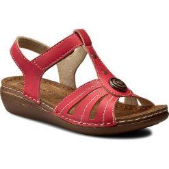 Rzymianki damskie: Sandały INBLU – CX116J15 Czerwony