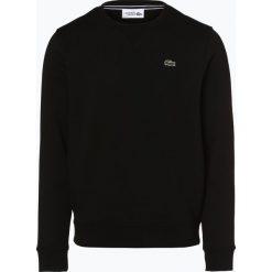 Lacoste - Męska bluza nierozpinana, czarny. Szare bluzy męskie rozpinane marki Lacoste, z bawełny. Za 399,95 zł.