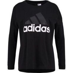 Adidas Performance ESSENTIALS Bluzka z długim rękawem black. Czarne bluzki damskie adidas Performance, xl, z bawełny, z długim rękawem. Za 129,00 zł.