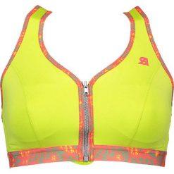 Biustonosze sportowe: Sportowy biustonosz w kolorze jaskrawożółtym