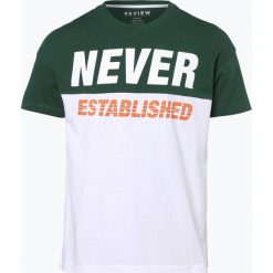 T-shirty męskie z nadrukiem: Review – T-shirt męski, zielony