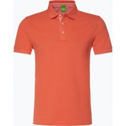 Koszulki polo: BOSS Athleisure – Męska koszulka polo – C-Firenze 55, pomarańczowy