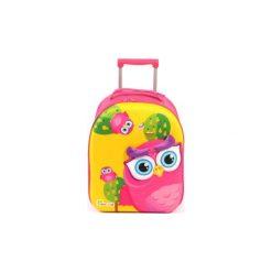 BAYER CHIC 2000 Bouncie Walizka - Biedronka, 40 cm - różowy/pink. Czarne walizki marki Jack Wolfskin, w paski, z materiału, małe. Za 129,00 zł.
