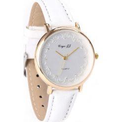 Biały Zegarek Loves Embrace. Białe zegarki damskie Born2be. Za 24,99 zł.