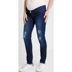 Boyfriendy damskie: Slacks & Co. Jeans Skinny Fit indigo