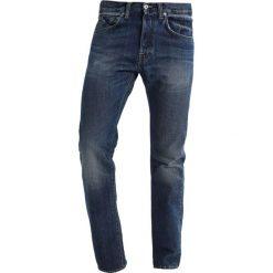 Spodnie męskie: Edwin ED55 REGULAR TAPERED Jeansy Zwężane sapphire wash