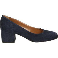 Czółenka - 0316 CAM BLU. Czarne buty ślubne damskie Venezia, ze skóry. Za 219,00 zł.