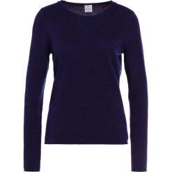Swetry klasyczne damskie: FTC Cashmere Sweter dark blue