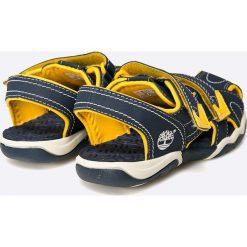 Timberland - Sandały dziecięce. Szare sandały chłopięce Timberland, z materiału. W wyprzedaży za 169,90 zł.