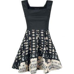 Gothicana by EMP Sweet Miracle Sukienka czarny. Czarne sukienki na komunię marki Orsay, do pracy, w paski, z elastanu, biznesowe, z kwadratowym dekoltem, rozkloszowane. Za 199,90 zł.