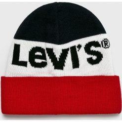 Levi's - Czapka. Szare czapki zimowe damskie Levi's®, na zimę. Za 99,90 zł.