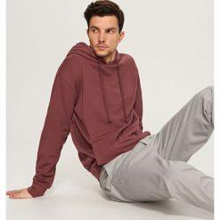Bluza z kapturem - Fioletowy. Fioletowe bluzy męskie rozpinane marki Reserved, l, z kapturem. Za 89,99 zł.