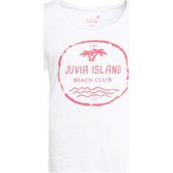 T-shirty damskie: Juvia ISLAND Tshirt z nadrukiem white candy