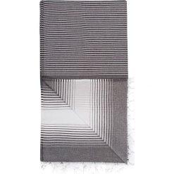 Chusta hammam w kolorze czarnym - 180 x 100 cm. Czarne chusty damskie marki Hamamtowels, z bawełny. W wyprzedaży za 43,95 zł.