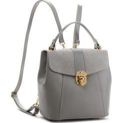 Plecak CREOLE - K10419  Szary L219. Szare plecaki damskie Creole, ze skóry, klasyczne. W wyprzedaży za 189,00 zł.