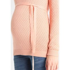 Swetry damskie: MAMALICIOUS MLCRYSTALINE  Sweter coral cloud
