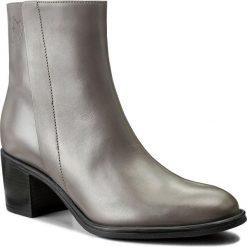 Botki EVA MINGE - Tecla 2E 17GR1372264EF 109. Szare buty zimowe damskie marki Eva Minge, z polaru, na obcasie. W wyprzedaży za 299,00 zł.