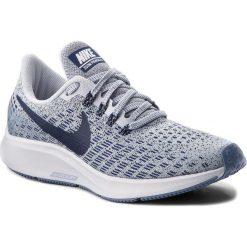 Buty NIKE - Air Zoom Pegasus 35 942855 005 Football Grey/Blue Void/White. Szare buty do biegania damskie Nike, z materiału, nike zoom. W wyprzedaży za 369,00 zł.