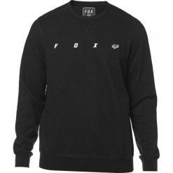 FOX Bluza Męska Maxis Crew Xl Czarna. Szare bluzy męskie marki FOX, z bawełny. Za 284,00 zł.