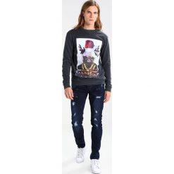 Spodnie męskie: Only & Sons ONSWARP Jeans Skinny Fit dark blue denim