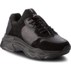 Sneakersy BRONX - 66167-G BX 1525 Black 1. Czarne sneakersy damskie marki Bronx, z materiału. W wyprzedaży za 399,00 zł.