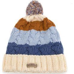 Czapka COLUMBIA - Carson Pass Beanie 1621821 Light Bisque 106. Brązowe czapki damskie Columbia, z materiału. Za 104,99 zł.