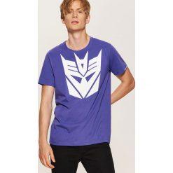 T-shirt Transformers - Fioletowy. Fioletowe t-shirty męskie House, l. Za 59,99 zł.