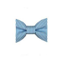 Mucha gotowa bowstyle Niebieska kratka. Niebieskie muchy męskie Bowstyle, w kratkę, z tkaniny. Za 75,00 zł.