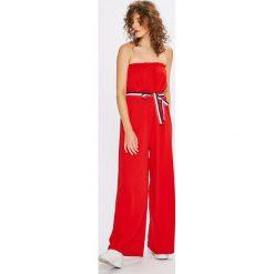 Answear - Kombinezon. Szare kombinezony damskie marki Pepe Jeans, m, z jeansu, bez ramiączek. W wyprzedaży za 59,90 zł.