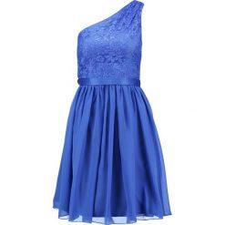 Laona Sukienka koktajlowa electric blue. Niebieskie sukienki koktajlowe marki Laona, z materiału. W wyprzedaży za 405,30 zł.