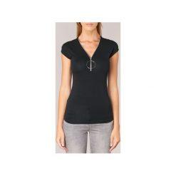 T-shirty z krótkim rękawem Morgan  DBA. Czerwone t-shirty damskie marki Guess, l. Za 109,00 zł.