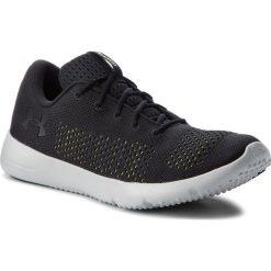 Buty UNDER ARMOUR - Ua Rapid 1297445-005 Blk. Czarne buty do biegania męskie marki Under Armour, z gumy. W wyprzedaży za 169,00 zł.