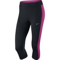 Legginsy damskie do biegania: legginsy do biegania damskie 3/4 NIKE DRI-FIT ESSENTIAL CAPRI / 645603-016 – NIKE DRI-FIT ESSENTIAL CAPRI