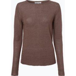 Apriori - Sweter damski z lnu, brązowy. Niebieskie swetry klasyczne damskie marki Apriori, l. Za 89,95 zł.