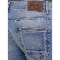 Only & Sons ONSLOOM  Jeans Skinny Fit light blue denim. Niebieskie jeansy męskie marki Only & Sons. W wyprzedaży za 174,30 zł.