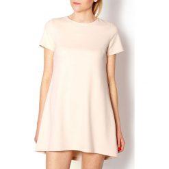 Sukienki: Pikowana sukienka trapez