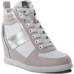 Sneakersy CALVIN KLEIN JEANS - Beth R0648 White/Silver. Brązowe sneakersy damskie Calvin Klein Jeans, z jeansu. W wyprzedaży za 369,00 zł.