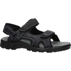 Czarne sandały na rzepy Casu D18627A. Czarne sandały męskie Casu, na rzepy. Za 79,99 zł.