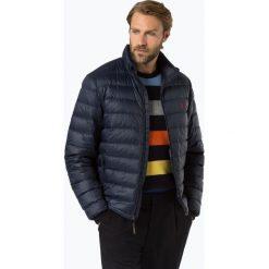 Polo Ralph Lauren - Męska kurtka puchowa, niebieski. Szare kurtki męskie puchowe marki Polo Ralph Lauren, z bawełny. Za 999,95 zł.