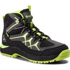 Trekkingi HI-TEC - Miko Mid Wp Teen AVSAW17-HT-01 Black/Dark Grey/Lime. Czarne buty trekkingowe damskie Hi-tec. Za 229,99 zł.