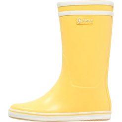 Aigle MALOUINE Kalosze jaune. Żółte kalosze damskie Aigle, w paski, z kauczuku. Za 239,00 zł.