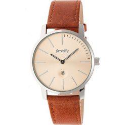 """Zegarki męskie: Zegarek kwarcowy """"the 4700"""" w kolorze jasnobrązowo-srebrno-beżowym"""