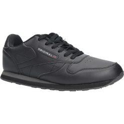 Czarne buty sportowe sznurowane Casu MXC7236. Czarne halówki męskie Casu, na sznurówki. Za 69,99 zł.