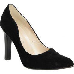 Czółenka na słupku Casu 1678. Czerwone buty ślubne damskie marki Casu, na słupku. Za 99,99 zł.