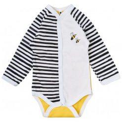 Garnamama Dziecięce Body W Paski Z Pszczółką, 56, Żółto/Białe. Białe body niemowlęce Garnamama, w paski. Za 33,00 zł.