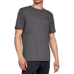 Koszule męskie na spinki: Under Armour Koszula męska Sportstyle Left Chest Tee szara r. M (1326799-019)