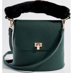 Torebka z odpinanym uchwytem - Khaki. Brązowe torebki klasyczne damskie Mohito. Za 99,99 zł.