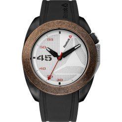 Zegarki męskie: Zegarek kwarcowy w kolorze brązowo-biało-czarnym